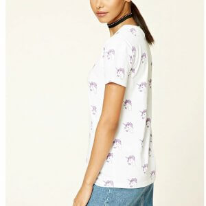 forever21 unicorn printed tee