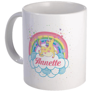 cafepress - unicorn mug