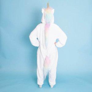 white fleece pyjamas