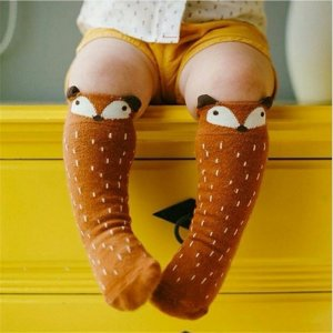 Cute Baby Socks With Animals Faces