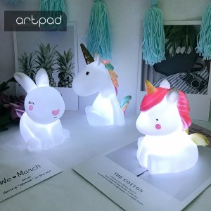 LED Cute Animals Nursery Night Lamp Image 1