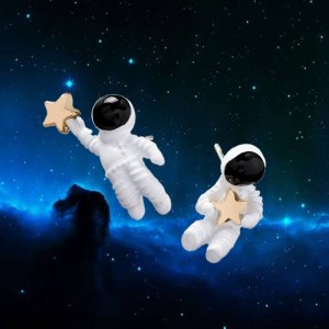 Astronauts Stud Earrings Image 3