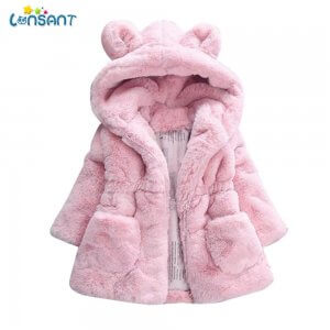 Baby Bear Coat With Cute Ears Image 1