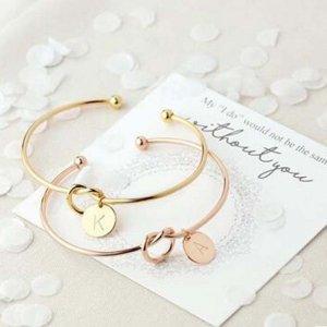 Custom Letter Bracelets