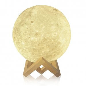 3D Color Changing Moon Lamp Image 6