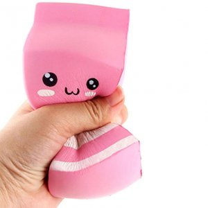 Scented Yogurt Bottle Squishy Squeeze Toy Image 2
