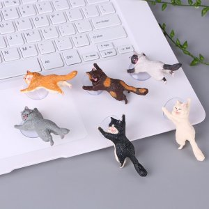 Adorable Cat Phone Holder Image 2