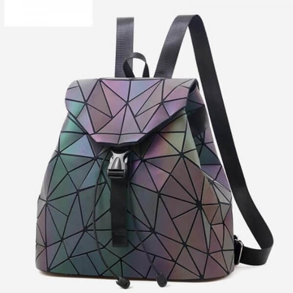 holographic school backpack