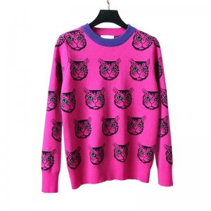Pink Cat Ugly Christmas Sweater